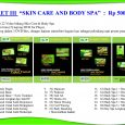 "PAKET III ""SKIN CARE AND BODY SPA""  :  Rp 500.000   Berisi 22 Video bidang Skin Care & Body Spa Dalam lima (5) keping DVD for Player, Packing dalam 3 […]"