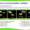"""PAKET VI """"SULAM ALIS, BIBIR"""" : Rp 800.000 Berisi 10 Video bidang Sulam Alis, Bibir Dalam empat (4) keping DVD for Player, Packing dalam 2 DVD Box, dengan lapisan stereofom […]"""